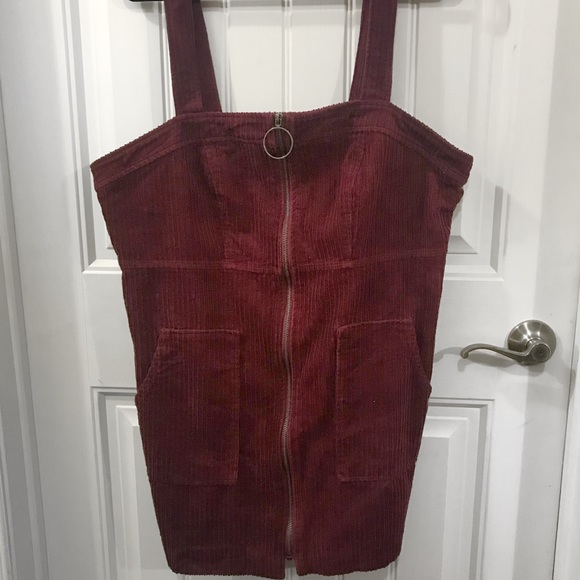 a7cff0bdc3 Forever 21 Dresses   Skirts - Plus Size Corduroy Overall Dress